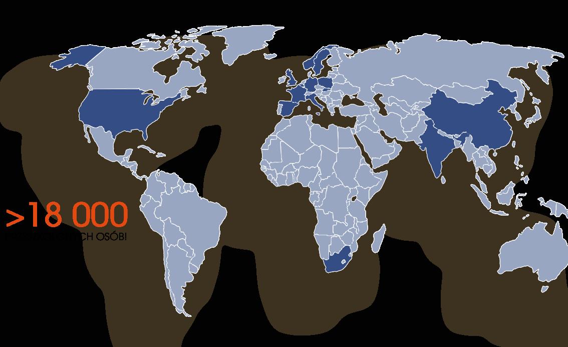 Mapa klientów