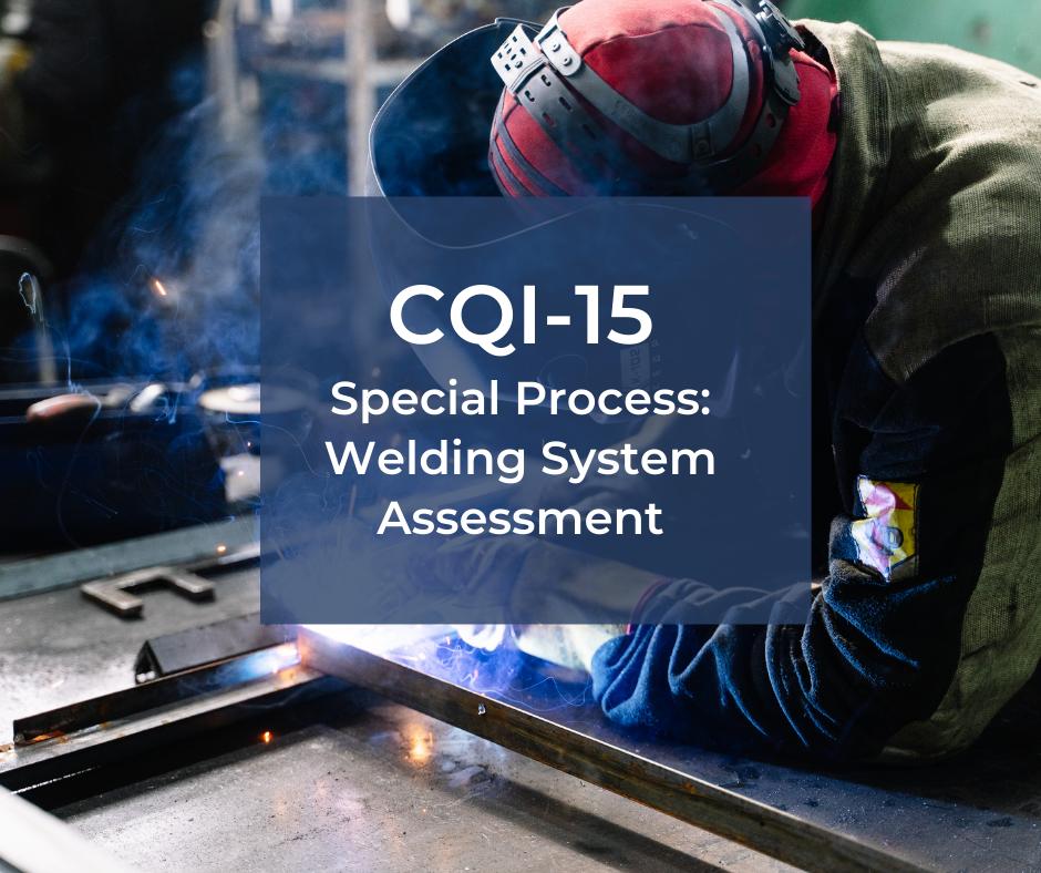 CQI-15 – audit procesu spawania i zgrzewania