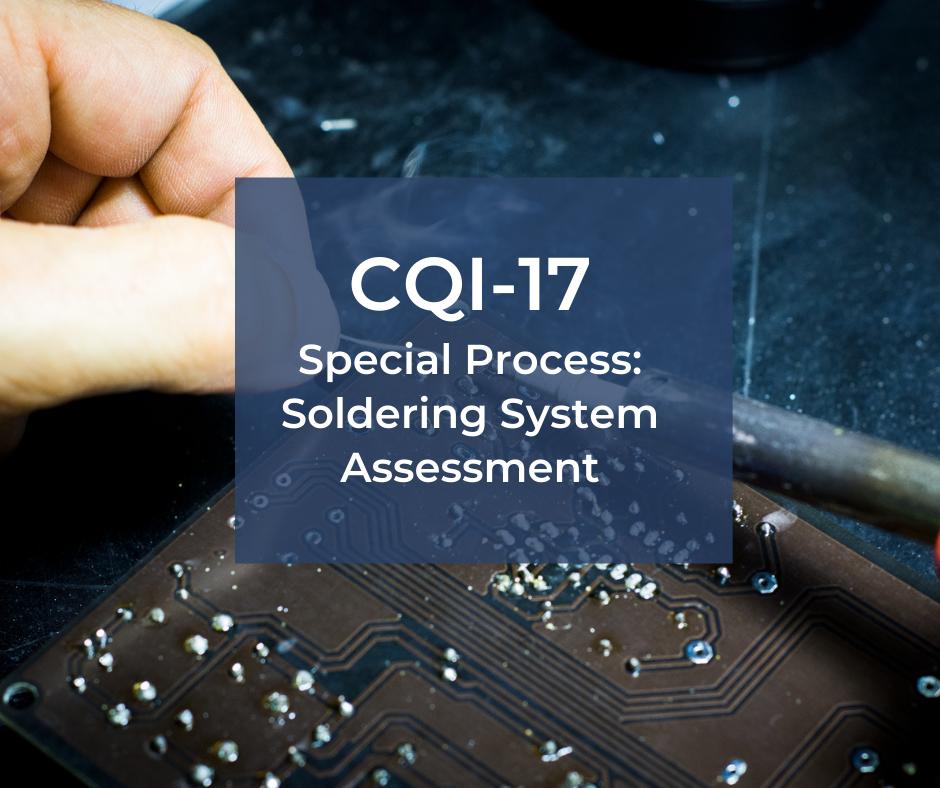 CQI-17 – audit procesu lutowania