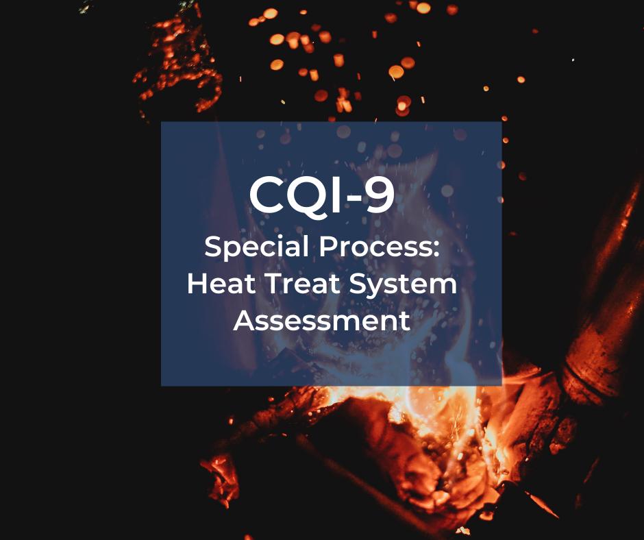 CQI-9 – ocena procesu obróbki cieplnej