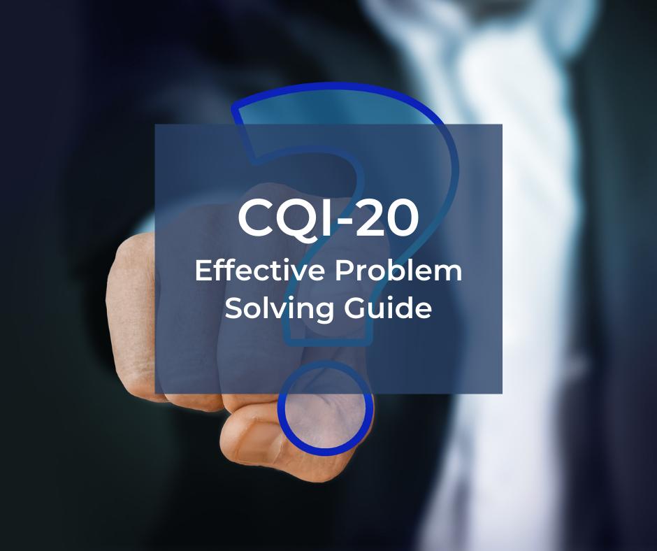 CQI-20 – efektywne rozwiązywanie problemów