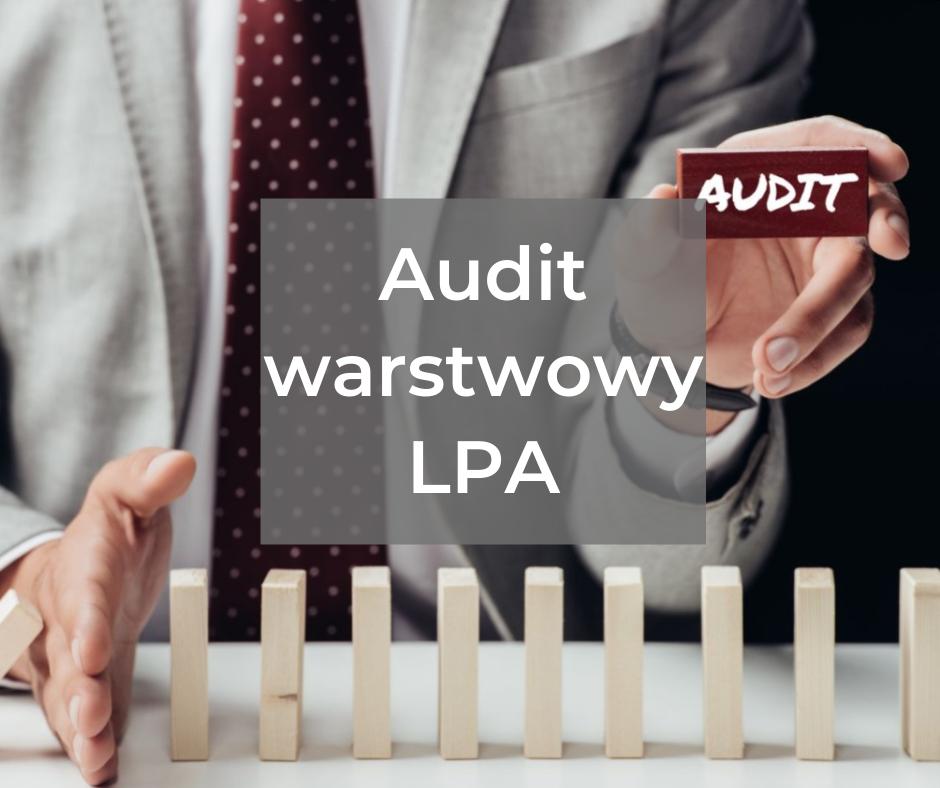 Audit warstwowy LPA według CQI-8