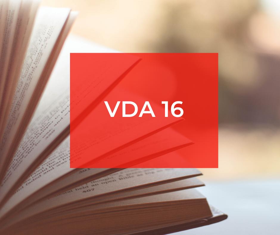 VDA 16 – Ocena powierzchni dekoracyjnej wyposażenia i części funkcyjnych na zewnątrz i wewnątrz pojazdów samochodowych